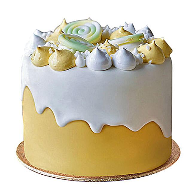 Soothing Fondant Cake: Designer Cakes