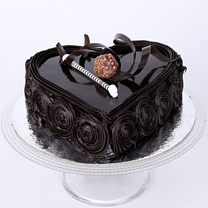 Special Floral Chocolate Cake: Send Chocolate Cakes