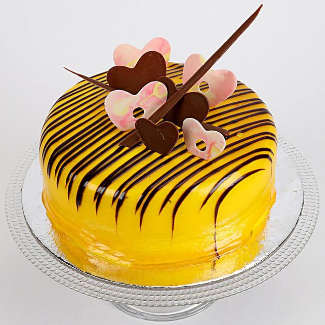 Striped Hearts Cake: Send Designer Cakes