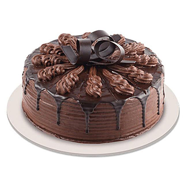 Swanky Chocolate Indulgence Cake: Gifts for Chocolate Day