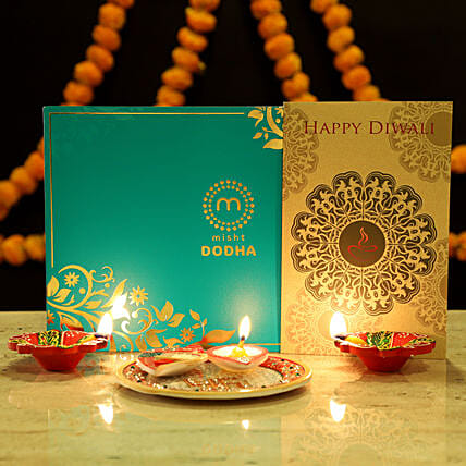 Sweet Diwali Greetings Hamper: Combo Gifts