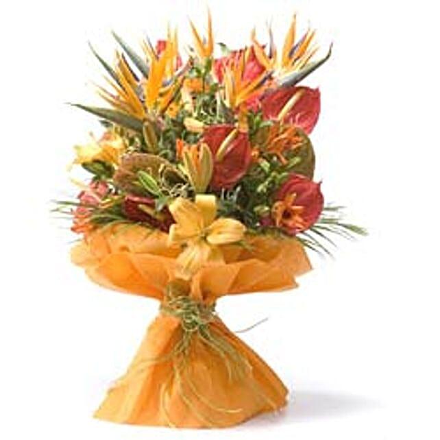 Thank You Bouquet: Anthuriums