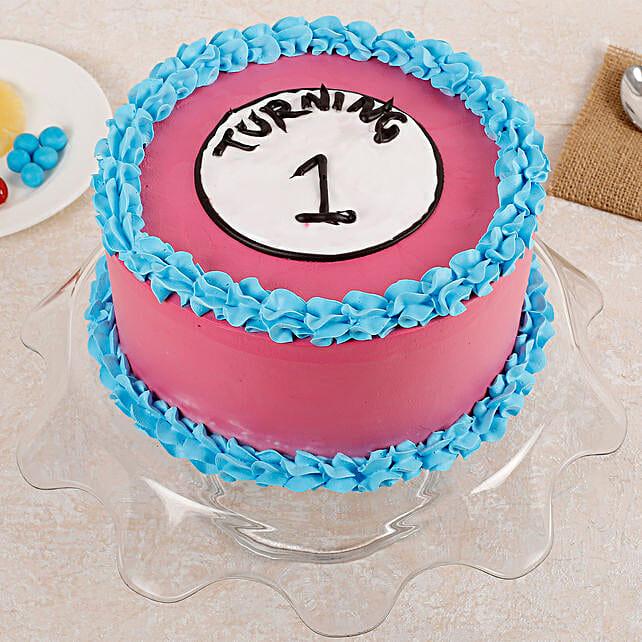 Turning One Cake: Alphabet N Number Cakes