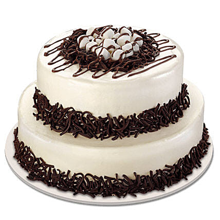 Twosome Cream Cake: Multi Tier Cakes