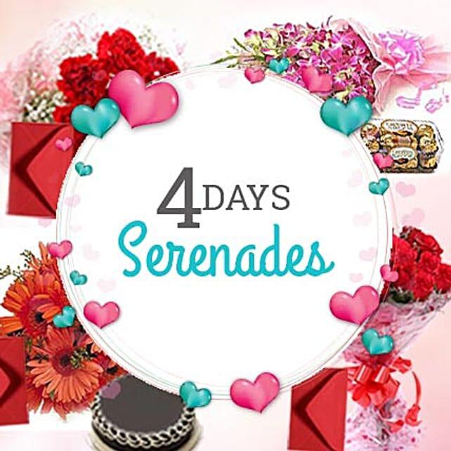 4 DAYS SERENADE: Serenades