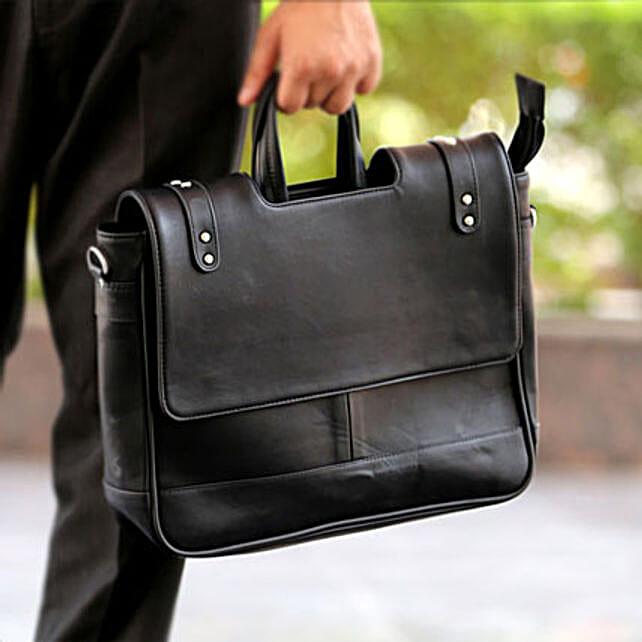 Black Office Bag: Gifts for Boss