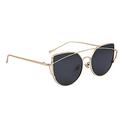 Black Round Unisex Sunglasses: Accessories