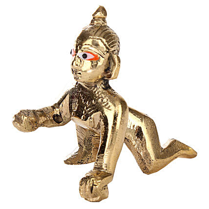 Brass Bal Shri Krishna: Show Pieces