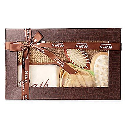 Brown Body Spa Kit: 10th Birthday Gifts