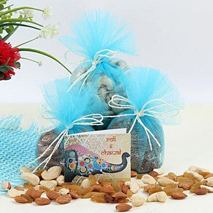 Celebration With Dry Fruits: Tikka Gifts for Bhai Dooj