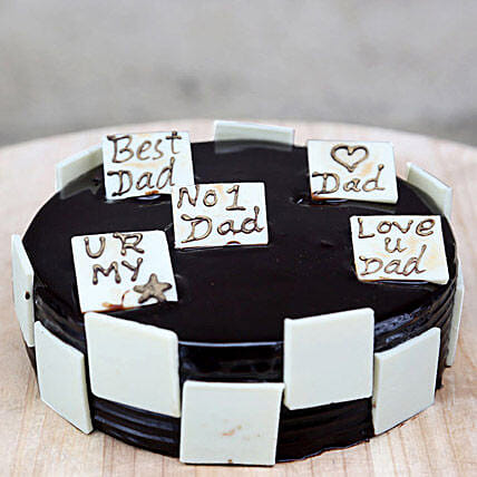 Choco Play Cake For Day: Designer Cakes for Fathers Day