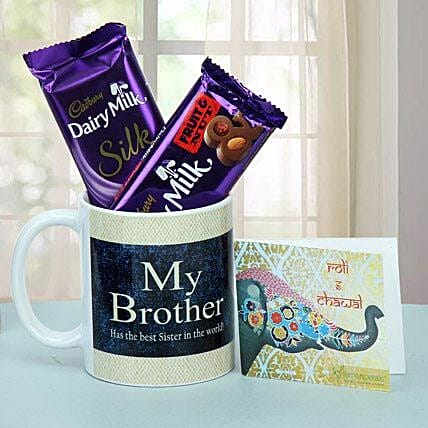 Chocolate Treat For Brother: Bhai Tika Gifts for Bhai Dooj