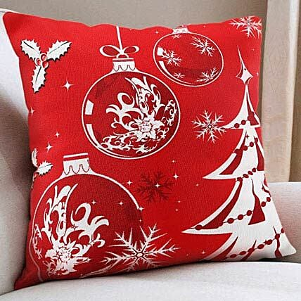 Christmas Cushion: Send Gifts to Khargone