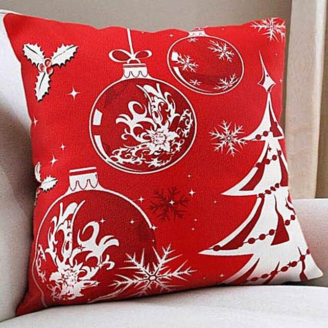 Christmas Cushion: Send Christmas Gifts? to Noida