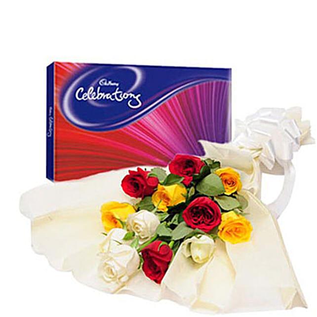 Colorful Celebration: Send Flower Bouquets
