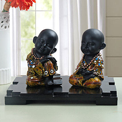 Decorative Monks: Feng Shui Gifts