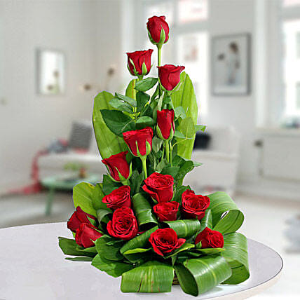 Expression of Romance: Basket Arrangements
