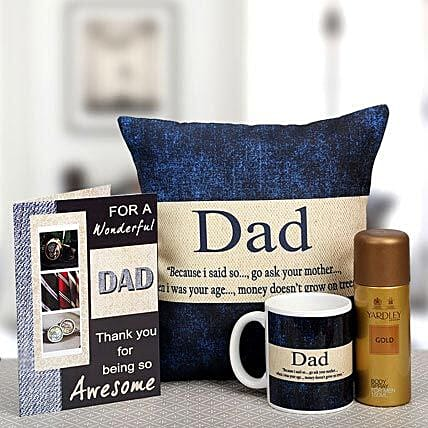 For My Wonderful Dad: Gift Hampers