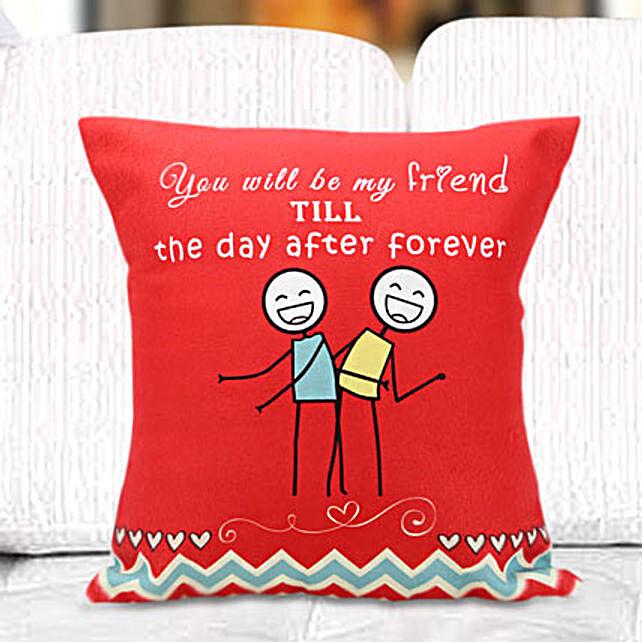 Fun cushion: Friendship Day Gifts Chennai