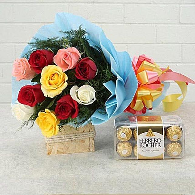 Heartfelt Wishes: Ferrero Rocher Chocolates