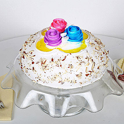 Italian Almond Cake: Send Gifts to Mohali