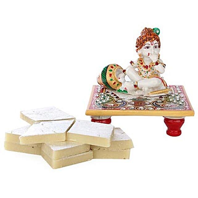 Marble Bal Krishna Combo: Buy Sweets