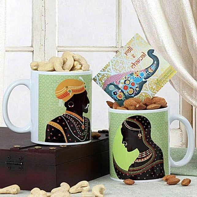 Mugs N Dry Fruits: Gift Combos