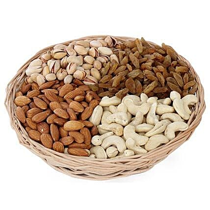 One kg Dry fruits Basket: Premium & Exclusive Gift Collection