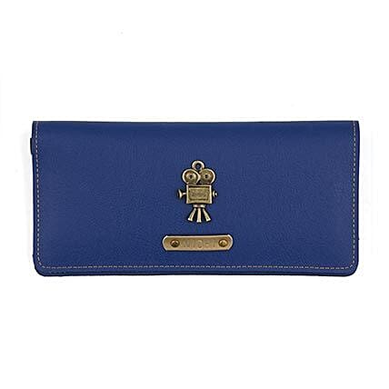 Personalised Navy Blue Womens Wallet: Handbags and Wallets Gifts