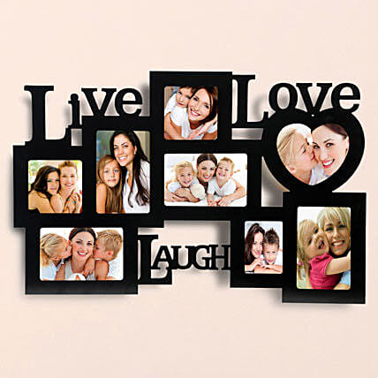 Personalized Live Love Laugh Frames: Gifts Delivery In Bardari
