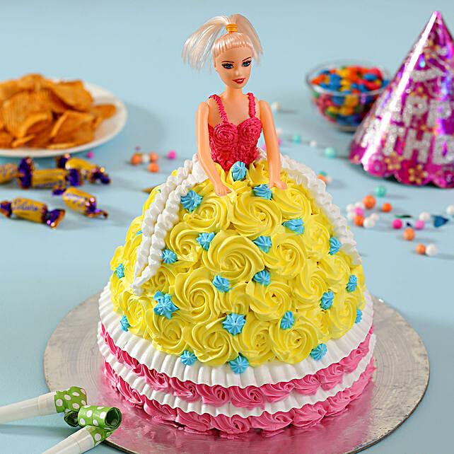 Rosy Barbie Cake: Barbie Cakes