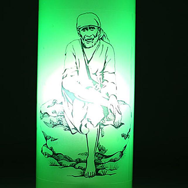 Sai Baba Bottle Lamp: Bottle Lamps