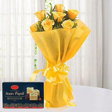 Yellow Roses N Sweets: Puthandu Gifts