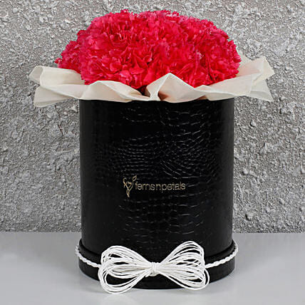 Pretty Pink Carnations Box: Carnations