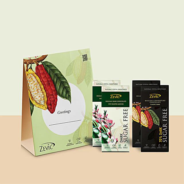 Zevic Dark Chocolate Gift Pack: Chocolates Shopping India