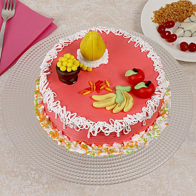 Ganesh Chaturthi Cake: Send Fresh Fruit Cakes