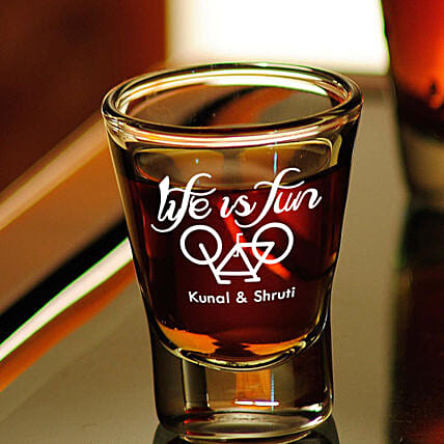 Personalised Set Of 2 Shot Glasses 1016: