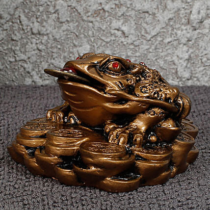 The Three Legged Money Toad Feng Shui Statue: Feng Shui Gifts