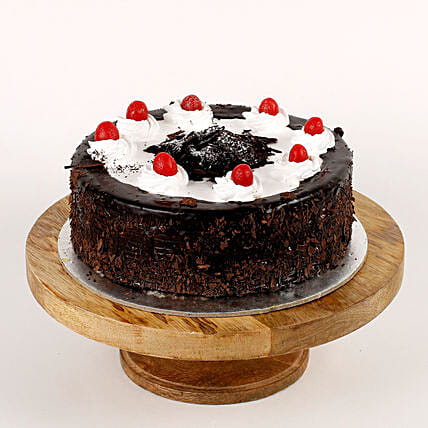 Cream Drop & Cherry Black Forest Cake: Send Black Forest Cakes