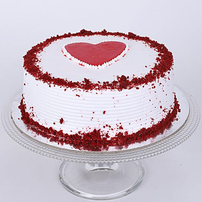 Adorable Red Velvet Cake: Red Velvet Cakes Delivery