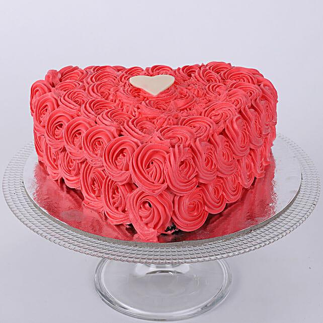 Valentine Heart Shaped Cake: Heart Shaped Cakes Faridabad
