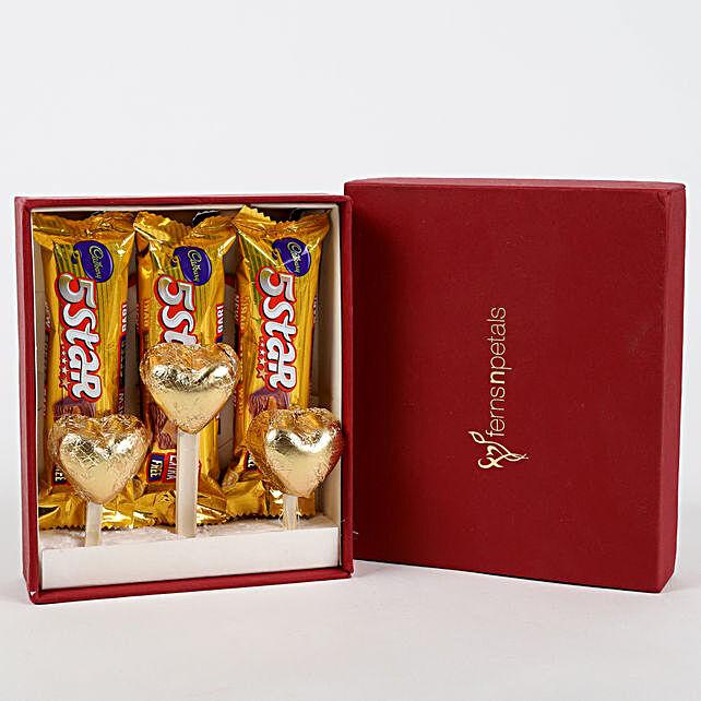 Five Star & Handmade Chocolate in FNP Gift Box: Cadbury Chocolates
