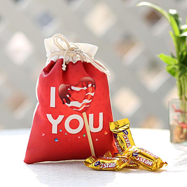 I Love You Bag of Five Stars:
