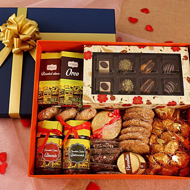 Chocolates Delightful Hamper Box: Send Gift Hampers