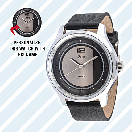 Personalised Brown Watch For Him: Personalised Watches