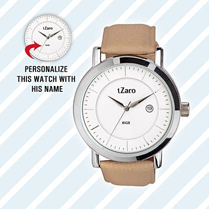 Personalised Classy Watch For Him: Fashion Accessories