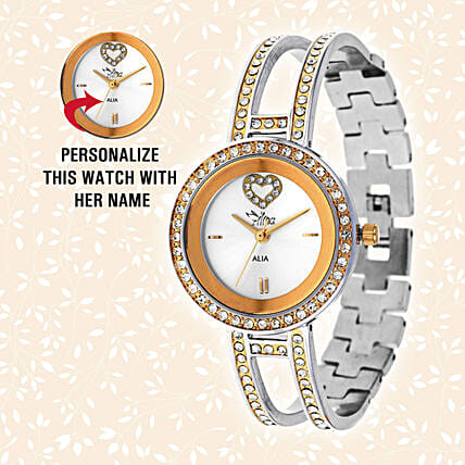 Personalised Ion Plating Classic Watch: Personalised Accessories