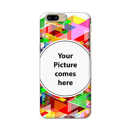 One Plus 5 Customised Vibrant Mobile Case: Personalised One Plus Mobile Covers