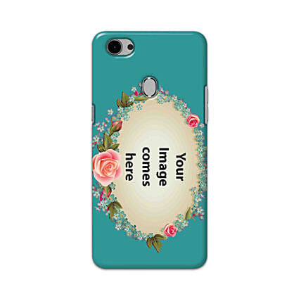 Oppo F7 Customised Floral Mobile Case: Personalised Oppo Mobile Covers