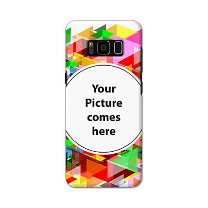 Samsung Galaxy S8 Customised Vibrant Mobile Case: Personalised Samsung Mobile Covers